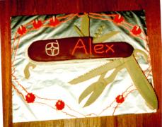 Swiss Army Penknife Cake - Alex's 8th