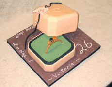 Ring and Box Cake - Victoria's 26th