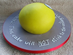 Stick to The Wall Cake