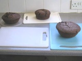 Chocolate madeira cakes