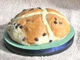 Easter 2007 - Hot Cross Bun cake