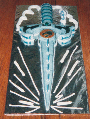 Masters of the Universe Sword Cake - Walter's 6th