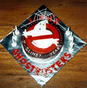 Ghostbusters Cake - Alex's 7th