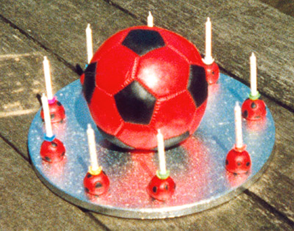 Soccer Ball Cake - Alex's 9th