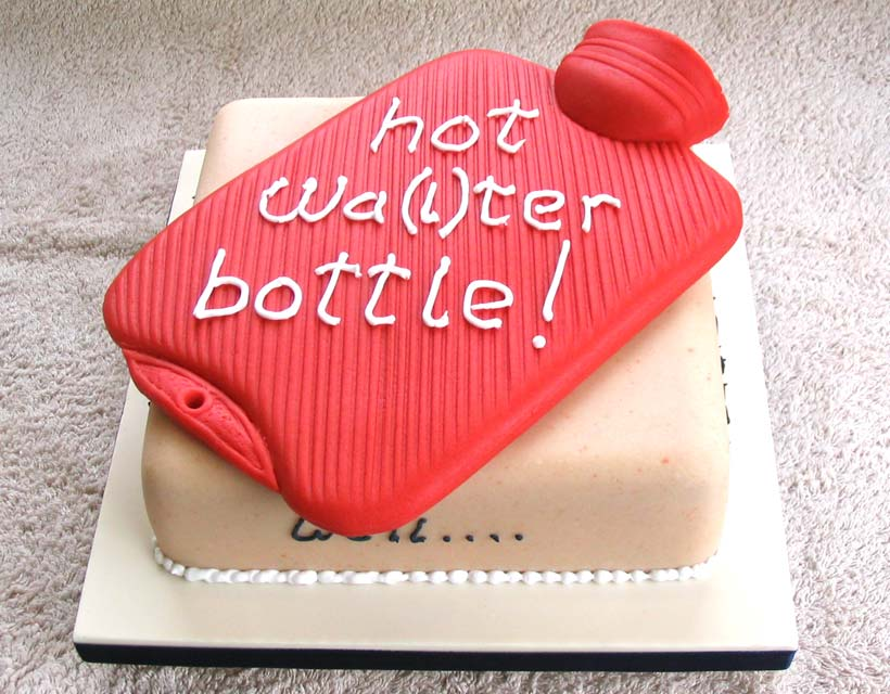 Hot Wa(l)ter Bottle Cake - Walter's 24th