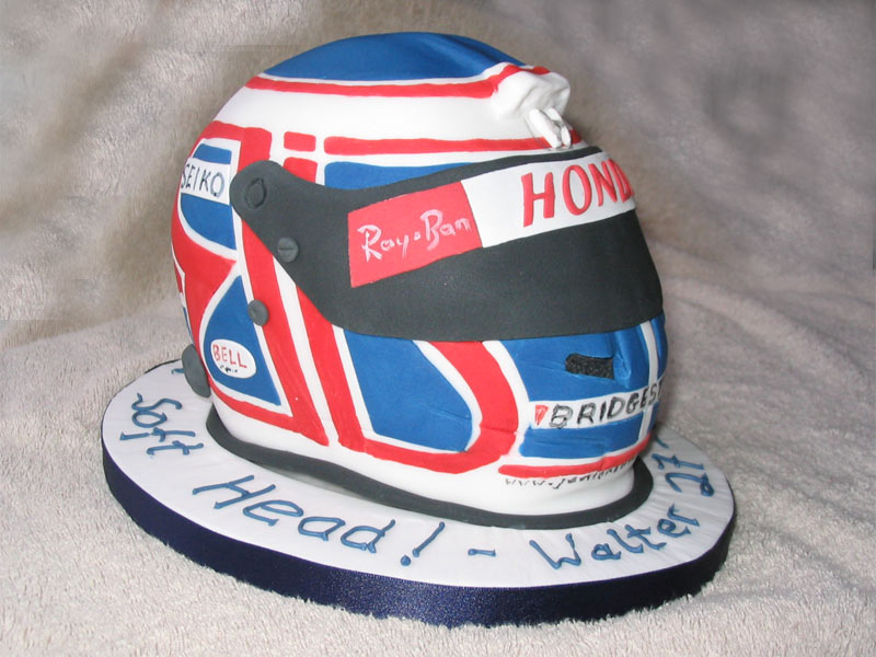 Jenson Button Helmet - Walter's 27th