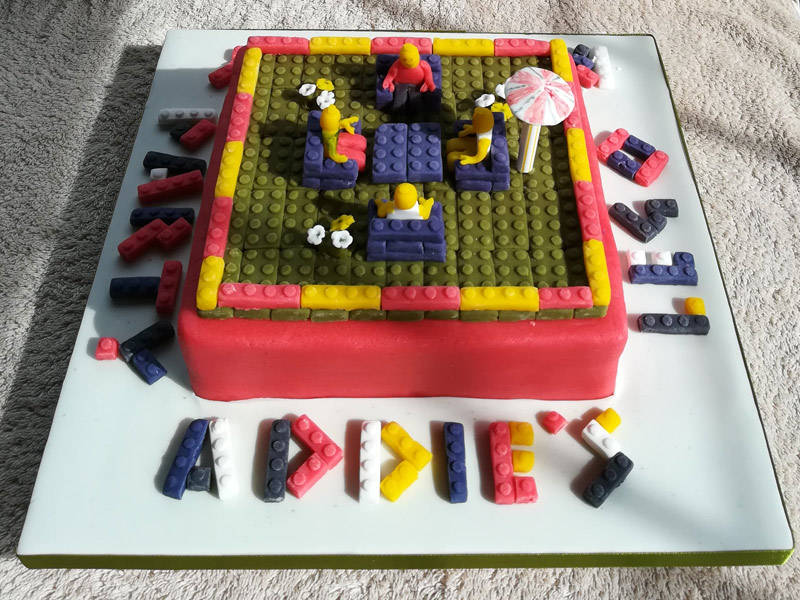 Addie's Lego Birthday Party