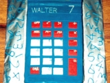 Calculator Cake - Walter's 7th