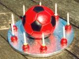 Soccer Ball Cake - Alex's 9th