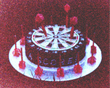 Darts Game Cake - Walter's 12th