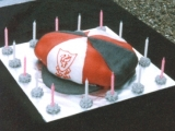 Liverpool FC Cap Cake - Alex's 15th