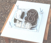 BMX Course Cake - Walter's 18th