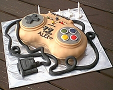 PC Games Controller Cake - Alex's 17th birthday