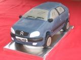 Citroen Saxo Cake - Walter's 23rd