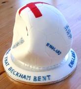 The Ball That Beckham Bent Cake - Alex's 22nd