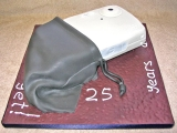 Camera and Pouch Cake - Walter's 25th