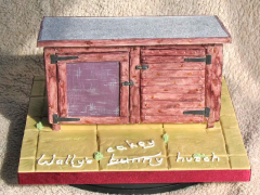 Rabbit Hutch Cake - Walter's 26th