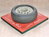 (Ready For) Re-tyre-ment Cake -View 2 - Janet's 60th