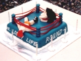 WWF Cake - Alex's 10th