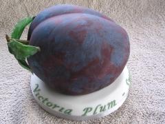 Victoria Plum Cake - Victoria's 25th