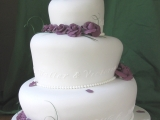 "Victoria and Walter's ""Wonky"" Wedding Cake"