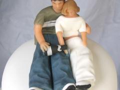 Marzipan figures