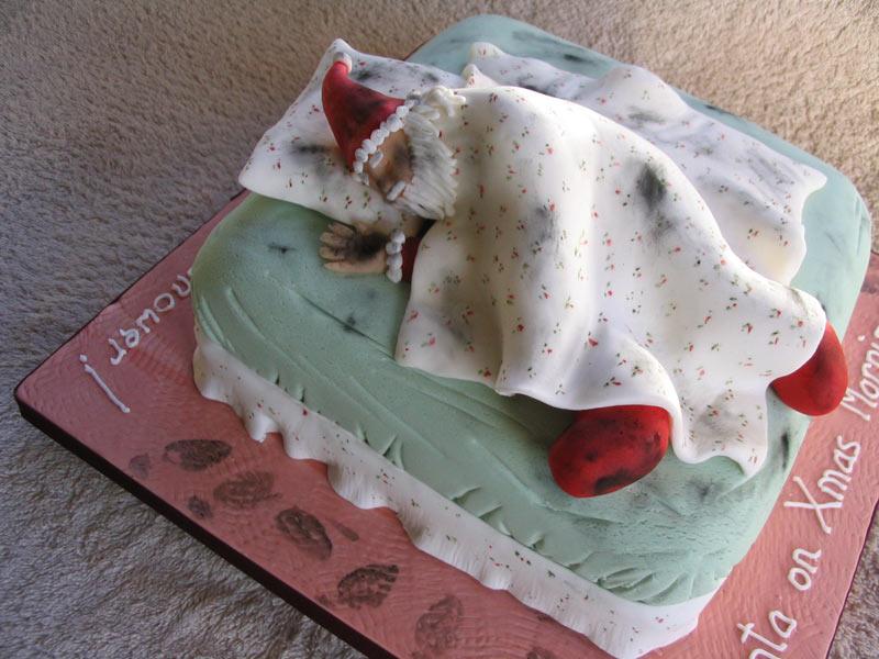 "Xmas 2007 - ""Santa on Xmas Morning ... Oops, Forgot to Shower!"""