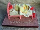 Xmas 2011 - Santa in Addie's Bed